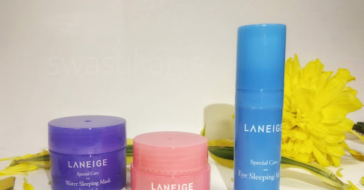Review Rangkaian Laneige Sleeping Mask