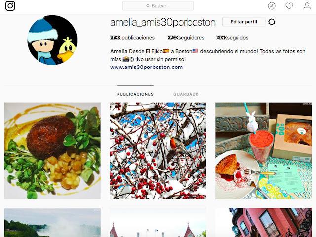Instagram de Amis30porboston: ¡No olvidéis Seguirla para ver más Fotos y Vídeos!