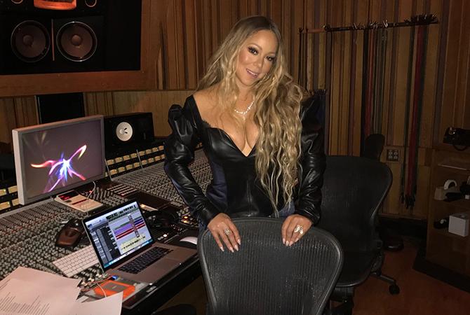 Mariah, pon di studio | Random J Pop