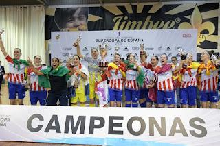 FÚTBOL SALA - Séptima Supercopa de España para el Futsi Navalcarnero que empieza la temporada con buen pie