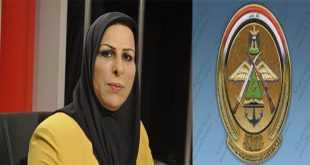 نائبة  تحذر من صفقة اسلحه بين شخصية في وزارة الدفاع العراقية وشركات وسيطة  قيمتها 163 مليون دولار !
