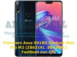 Firmware Asus X01BD Zenfone Max Pro M2 (ZB631KL / ZB630KL) Fastboot dan Qfil