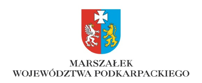 Logo Marszałka Województwa Podkarpackiego