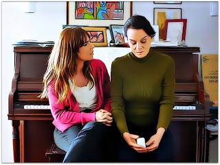 Como Nossos Pais - Rosa (Maria Ribeiro) e Clarice (Clarisse Abujamra)