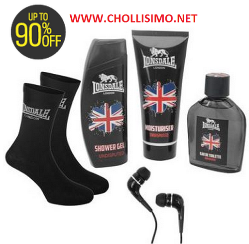 5 Productos Lonsdale  2,99€