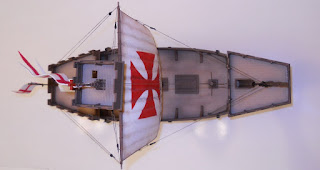 zvezda english medieval ship model