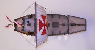 zvezda english medieval ship model