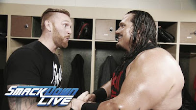 Manbeast WWE Tag Team Smackdown Tournament Rhyno Heath Slater