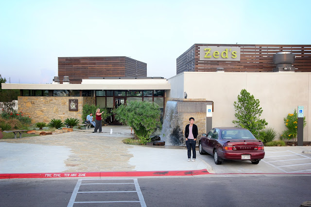 Zed's austin restaurant outside view