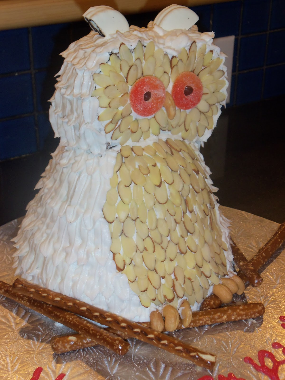 My Charming Cakes A Harry Potter Hedwig Birthday Cake