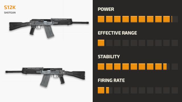 Senjata S12K PUBG