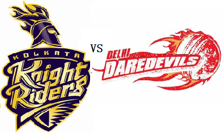 KKR VS DD Match live score updates, live streaming and match Predication