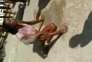 Mujer Drogada es Golpeada con Saña