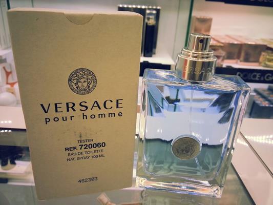 Sue s Fragrance House  Versace Pour Homme 100ml EDT Tester 48d622531a48