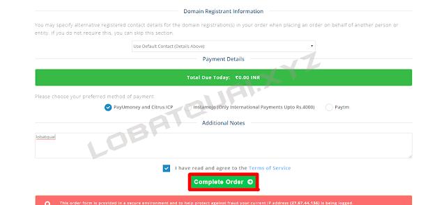 Hướng dẫn đăng ký tên miền .DESI miễn phí 1 năm