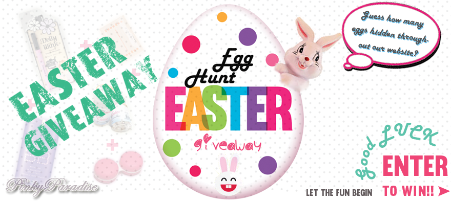 2014 EASTER EGG HUNT GIVEAWAY CONTEST - Color Contacts & Circle Lenses