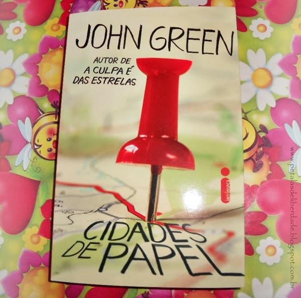 Cidades de Papel, John Green, Editora Intrínseca, livro, capa, sinopse