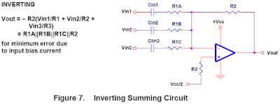 Summing Amplifier Circuit