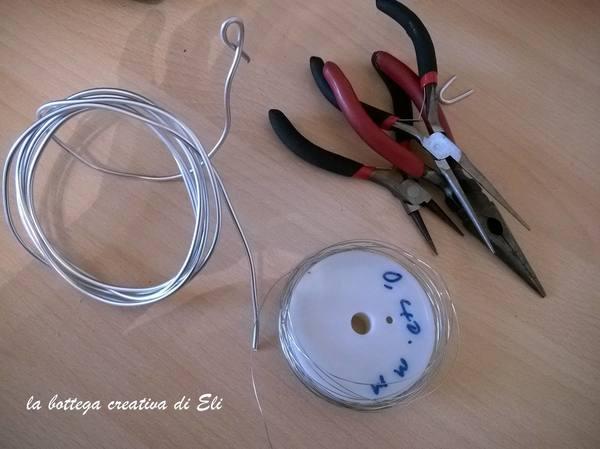 Come fare un Ciondolo fai da te con la tecnica del Wire Wrapped
