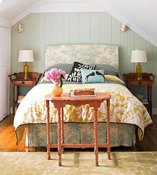 Cozy Cottage-Style Bedrooms   home appliance