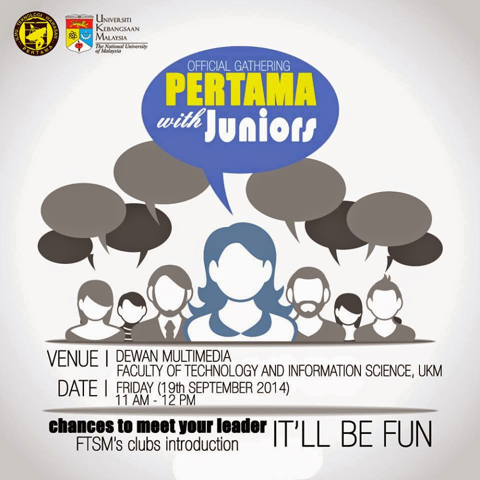 """Official Gathering PERTAMA with juniors"""