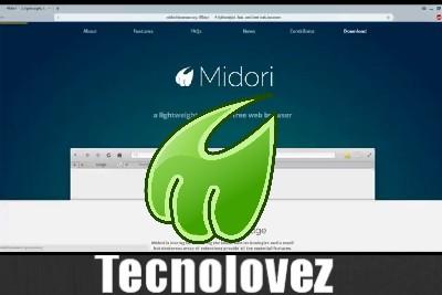 Midori - Browser adatto per Notebook o MiiniPC con meno di 2 GB Di RAM
