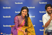 Nani and Keerhi Suresh at Facebook Office-thumbnail-13