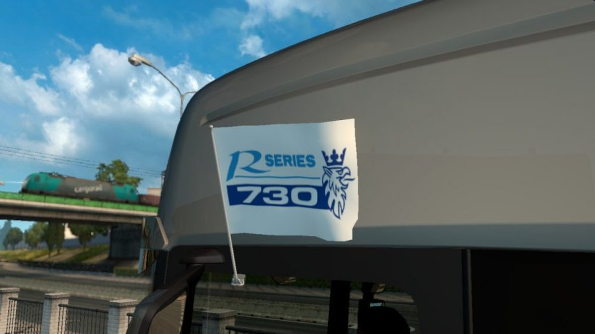 730 Flags & Pennant for Scania R Series
