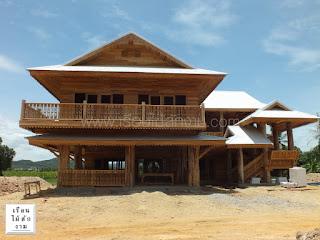 บ้านไม้สองชั้นราคา 7,500,000 บาท