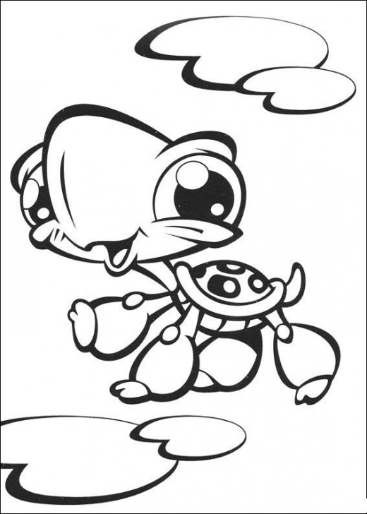 free littlest pet shop coloring pages | Fun Coloring Pages: The Littlest Pet Shop Coloring Pages