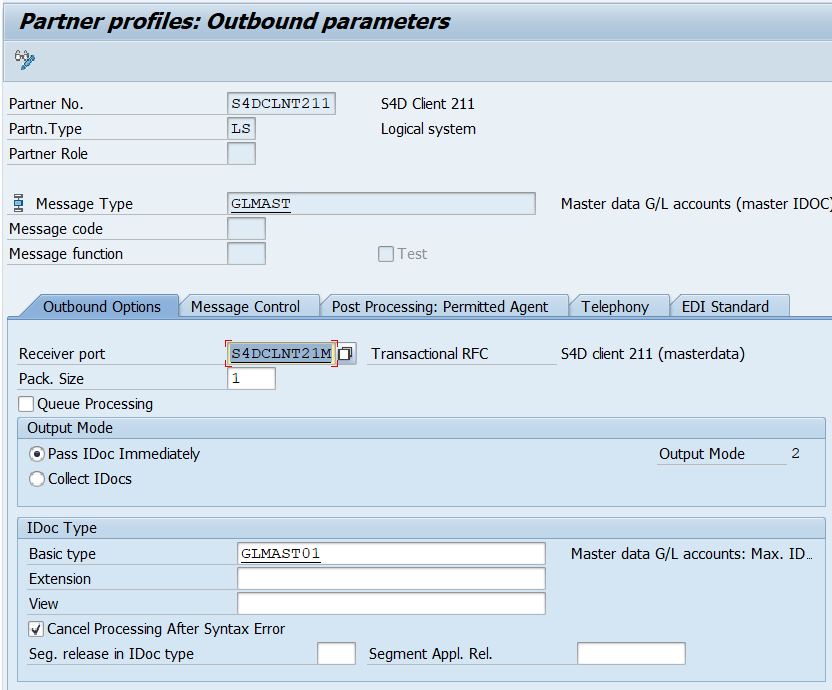 SAP FICO Corner: ALE Chart of Accounts to other environments