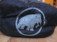 Mammut Logo on Sleeping Bag