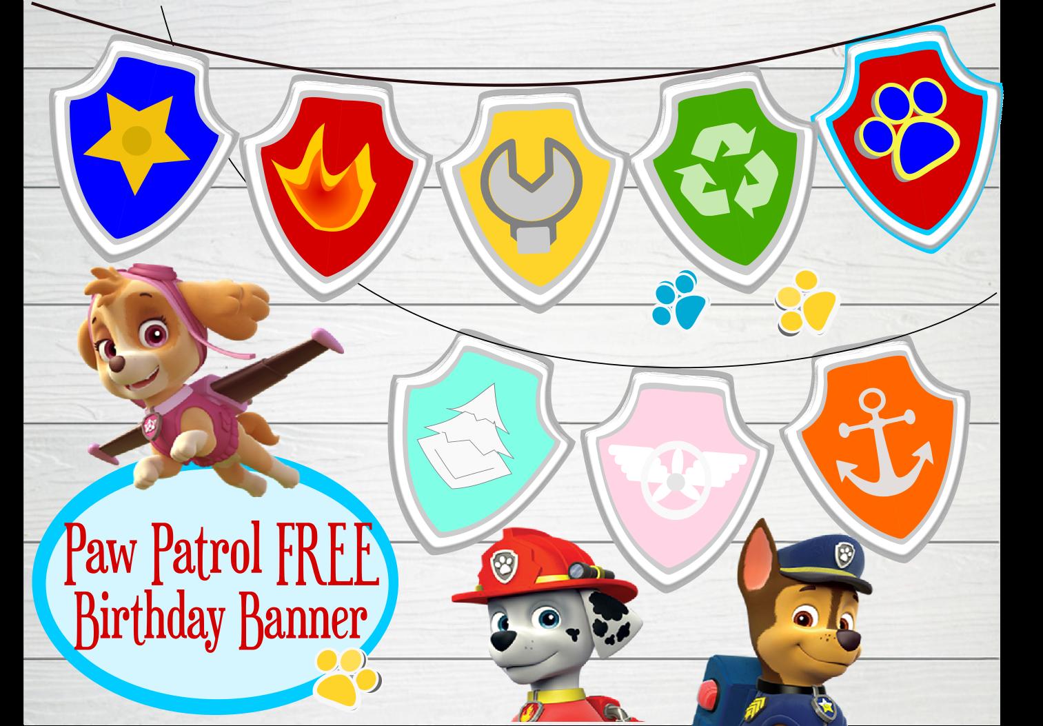graphic regarding Paw Patrol Printable identified as Paw Patrol Birthday- Get together- Pet-tastic Plans! - Abbi Kirsten