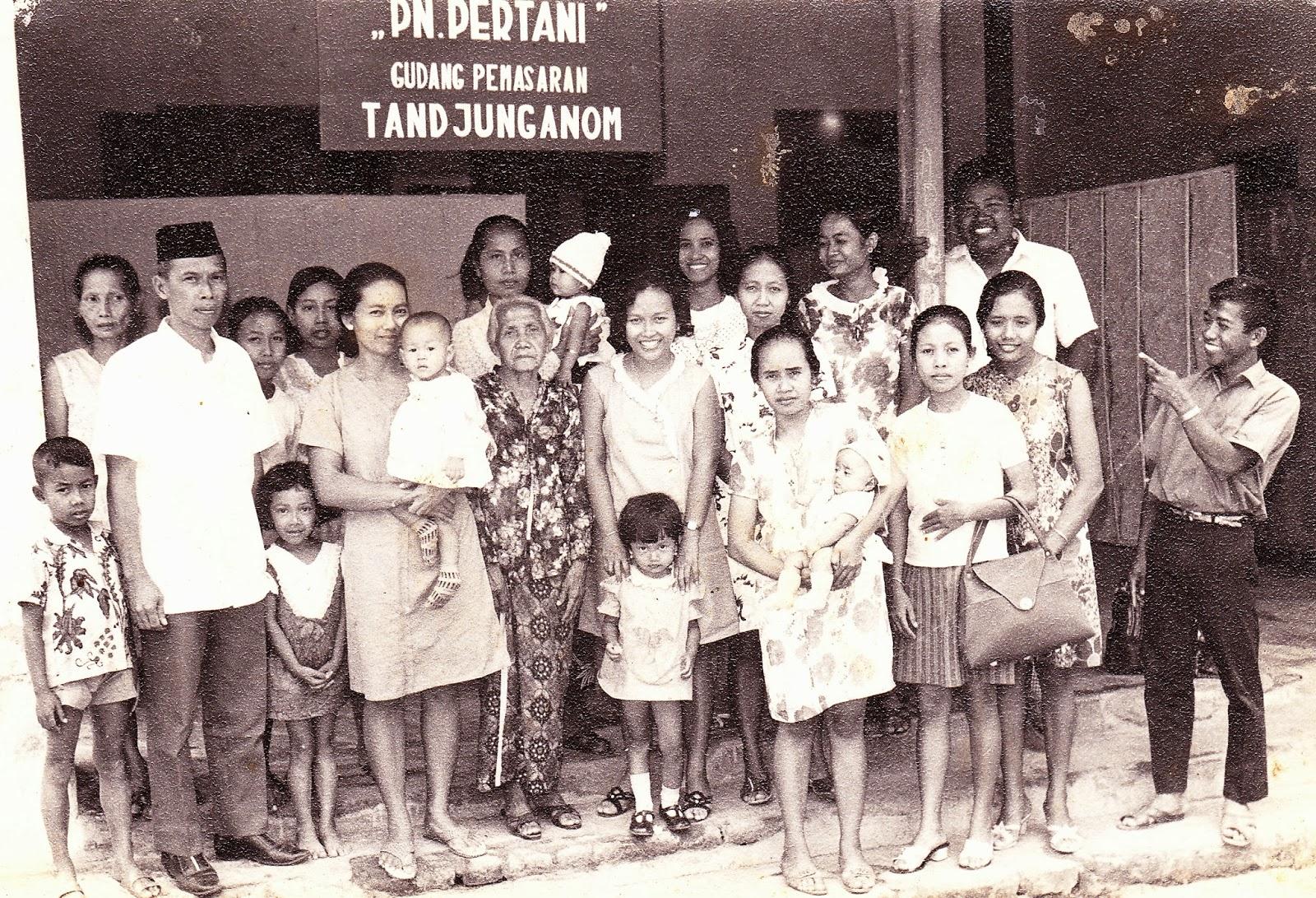 Nganjuk Jawa Timur Kenangan Tempo Dulu
