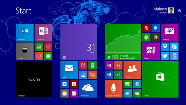 Windows yang Paling Ringan Hingga Terberat - Windows 8.0