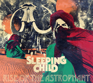 RISE OF THE ASTROPHANT debut album by SLEEPING CHILD