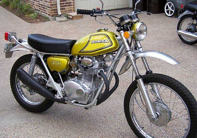 Honda SL350 Motorcycle Complete Wiring Diagram | All about Wiring Diagrams