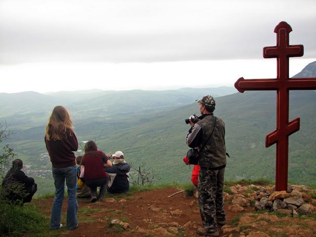 Самые высокие горы Украины. Седам-Кая. На Барской поляне.