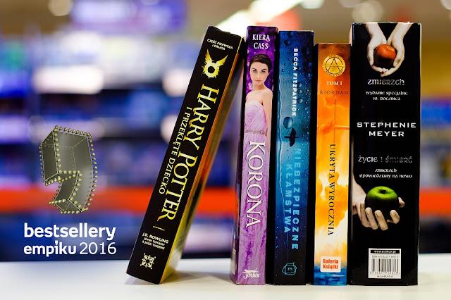 Bestsellery Empiku 2016 – znamy nominacje książkowe!