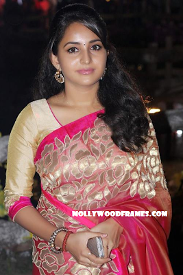 Bhama in Jean Paul Lal's wedding reception