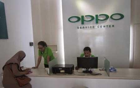 Alamat & Nomor Telepon Service Center Oppo Kota Medan
