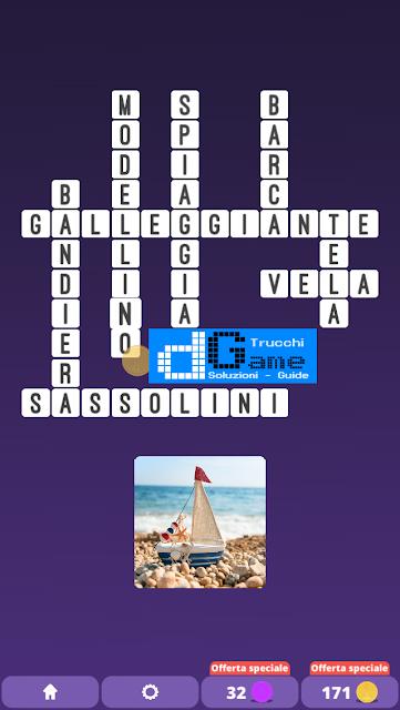Soluzioni One Clue Crossword livello 21 schemi 6 (Cruciverba illustrato)  | Parole e foto