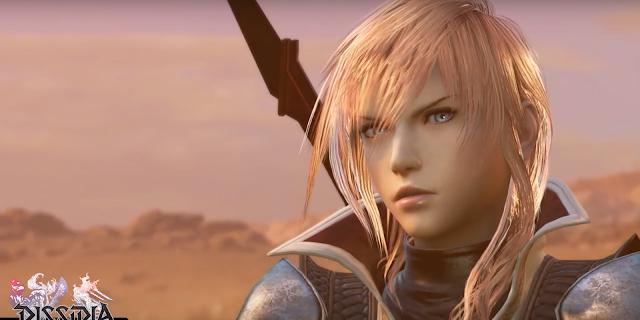 Lightning se luce en el último vídeo de Dissidia Final Fantasy NT