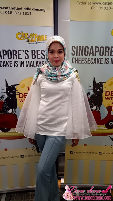 Beli Cat & The Fiddle Cheesecake Secara Online