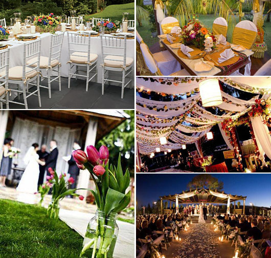 Outdoor Wedding Murah Di Bandung: Vega Dan Altair: Outdoor Venue #1
