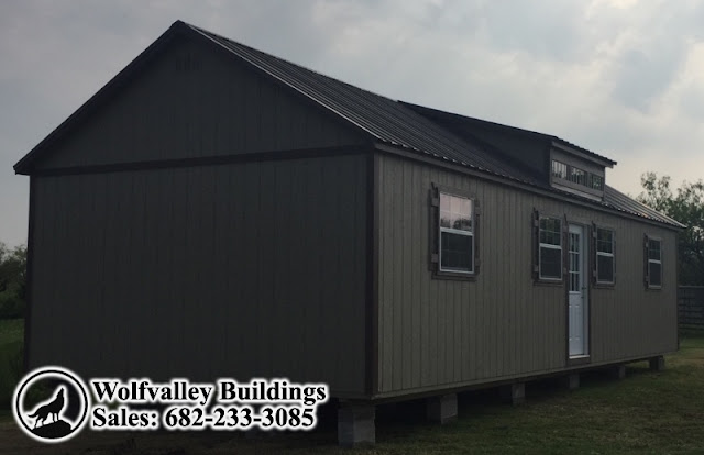 Wolfvalley Buildings Storage Shed Blog.: Dormer Cabin ...