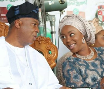 Toyin Saraki replies IG user who asked her to name three significant things Bukola Saraki did during his 8-year tenure as governor of Kwara state