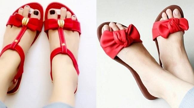 Trend model sandal wanita terbaru 2017