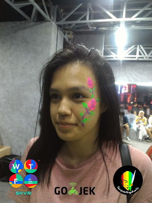 Face Painting Jakarta WTF18