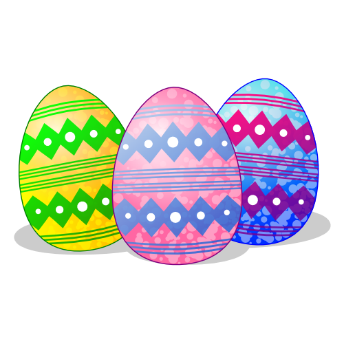 Easter Eggs Pictures for Facebook